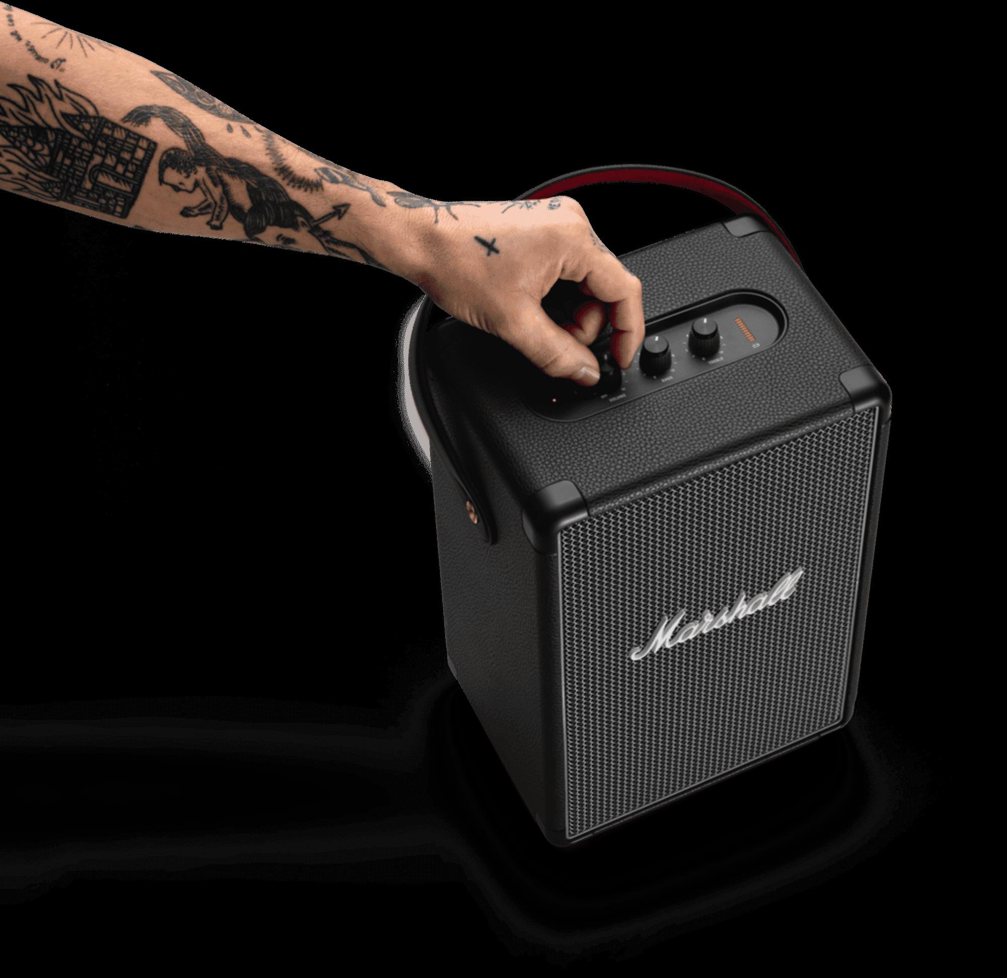 marshal tufton bluetooth speaker