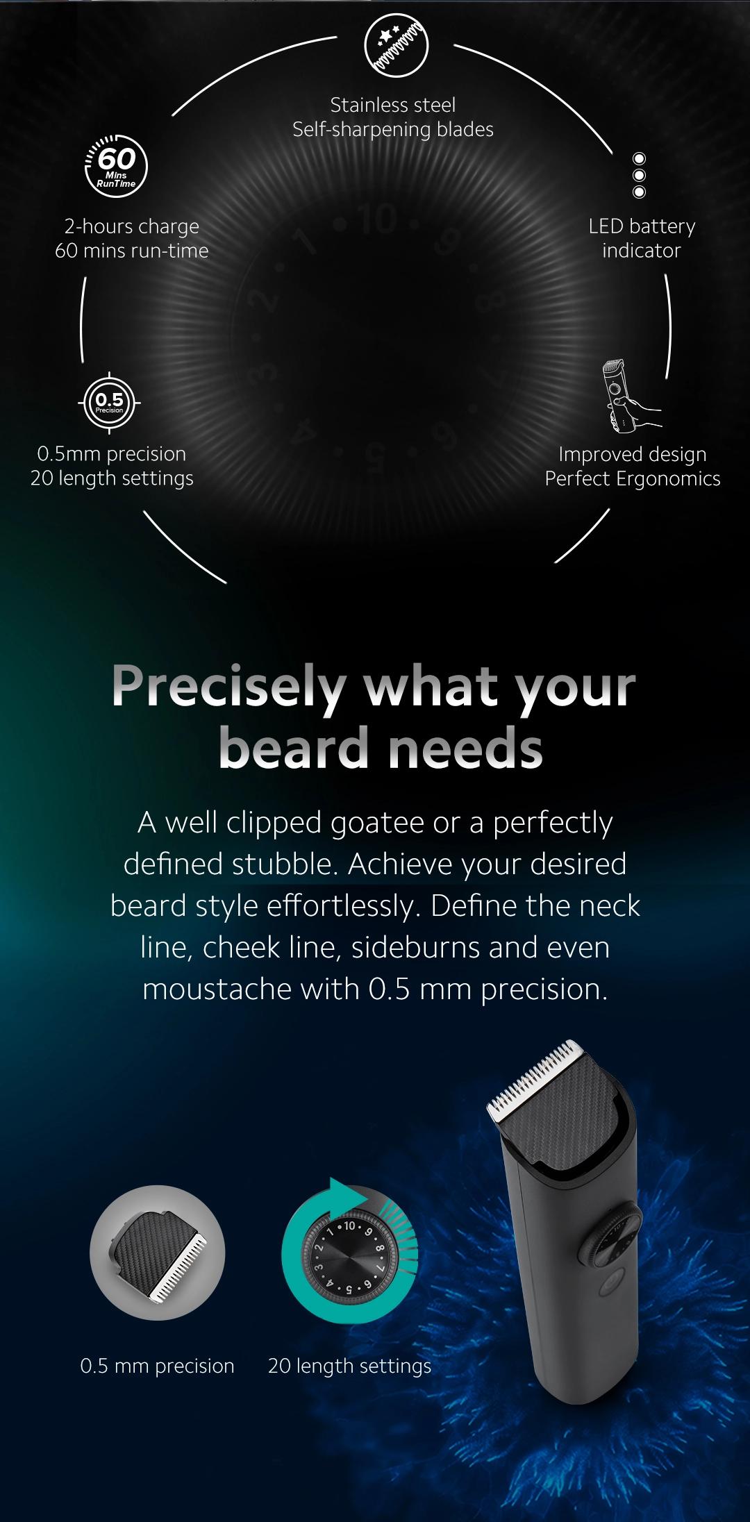 Mi beard trimmer 1c price