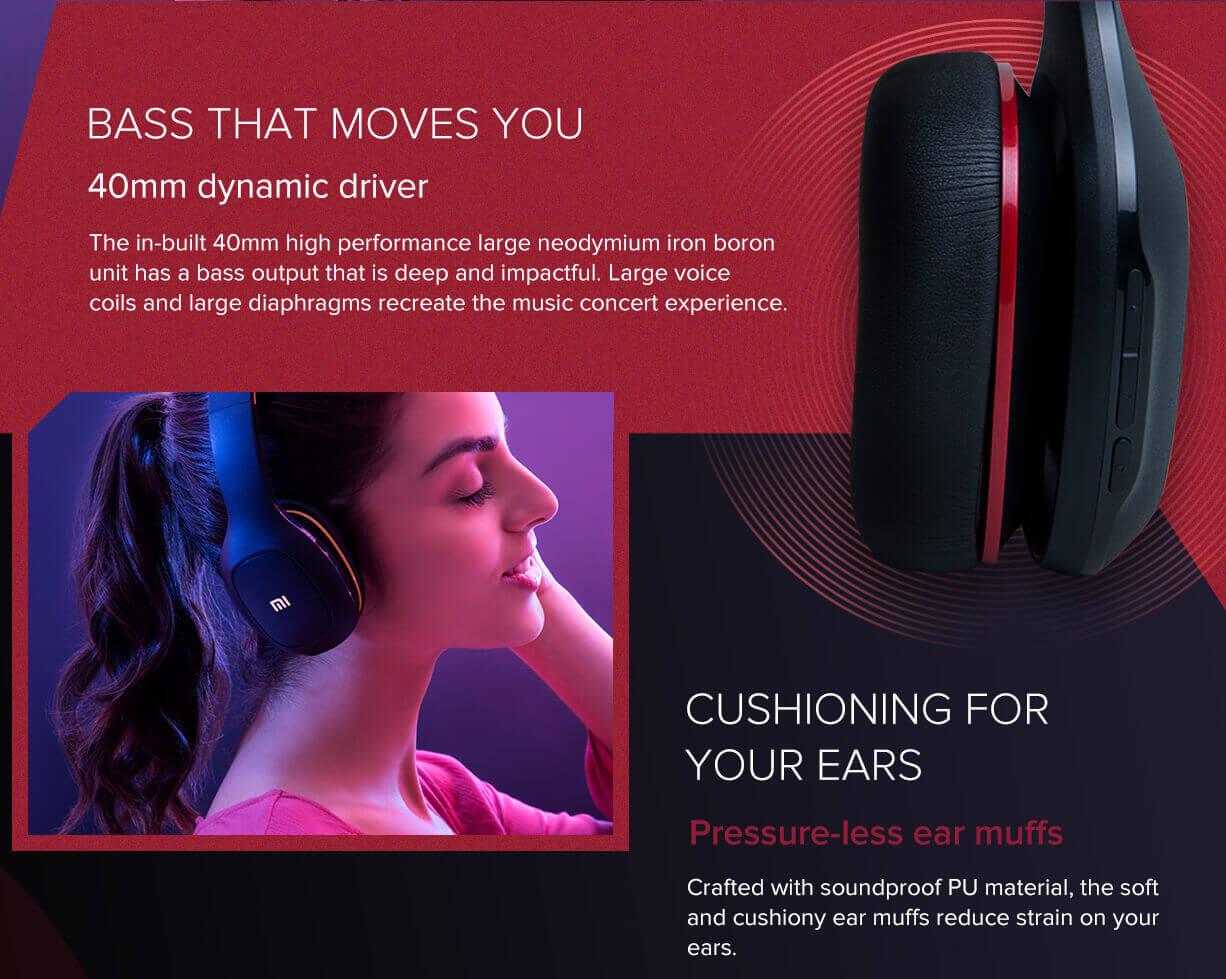 Mi Super Bass Wireless Headphones battery life
