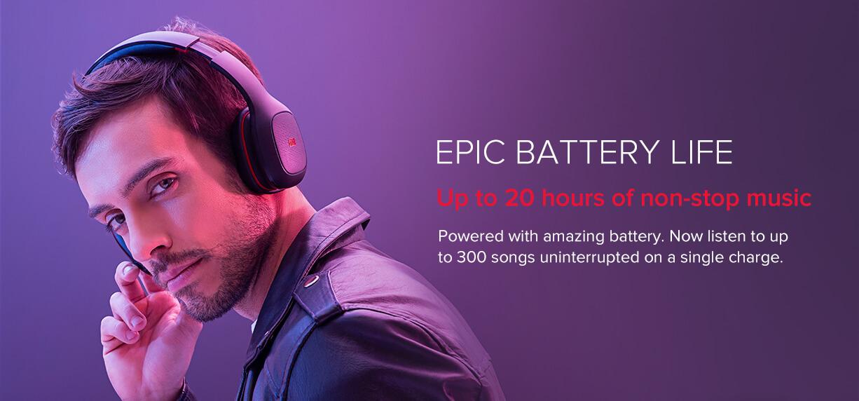 Mi Super Bass Wireless Headphones price in india