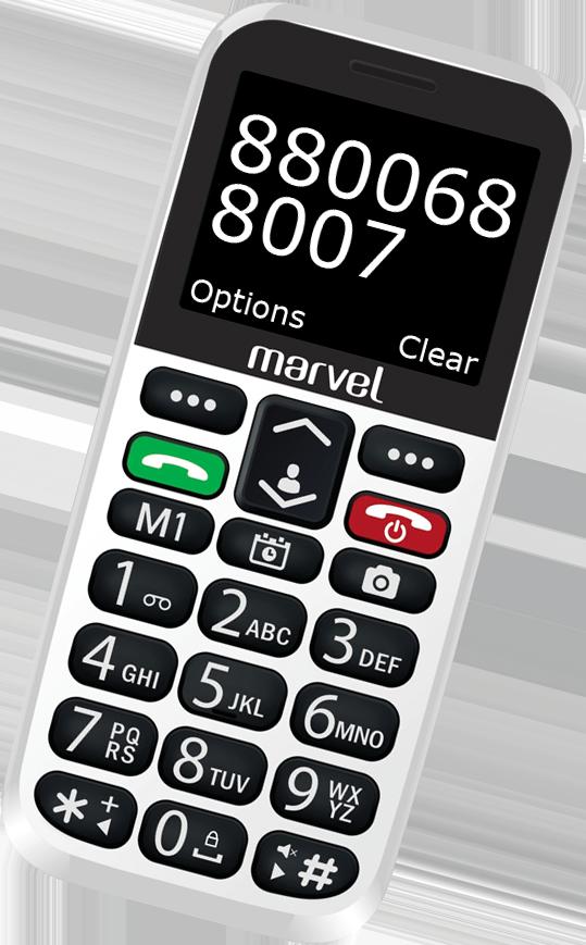 Easyfone Marvel Plus