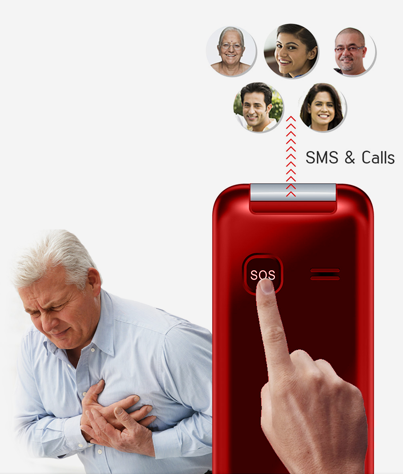 Easyfone Royale emergency