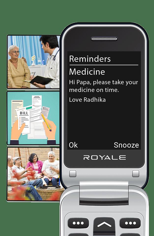 Easyfone Royale medicine
