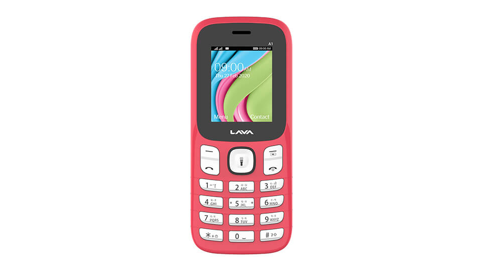 Lava A1 red