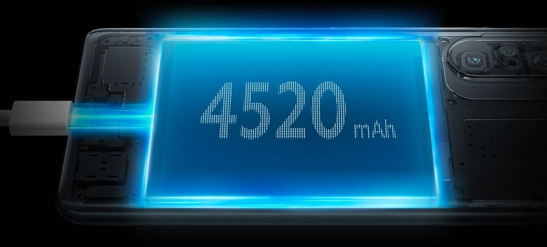 Mi 11X Pro battery