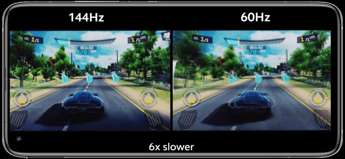 Mi 10T 5G mobile slow motion effects