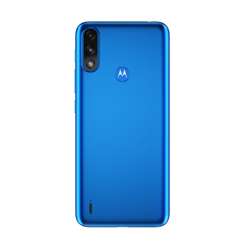 Moto blue color