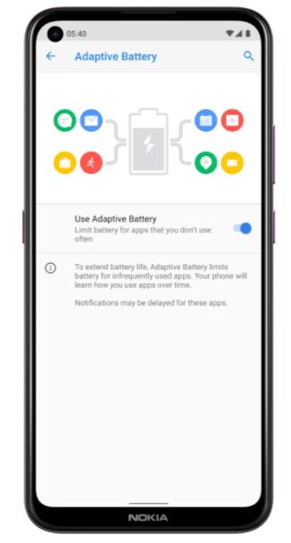 Nokia 5.4 HD Battery Life