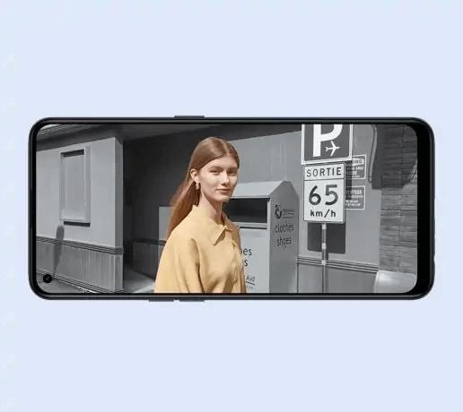 Oppo F19 Pro portrait video