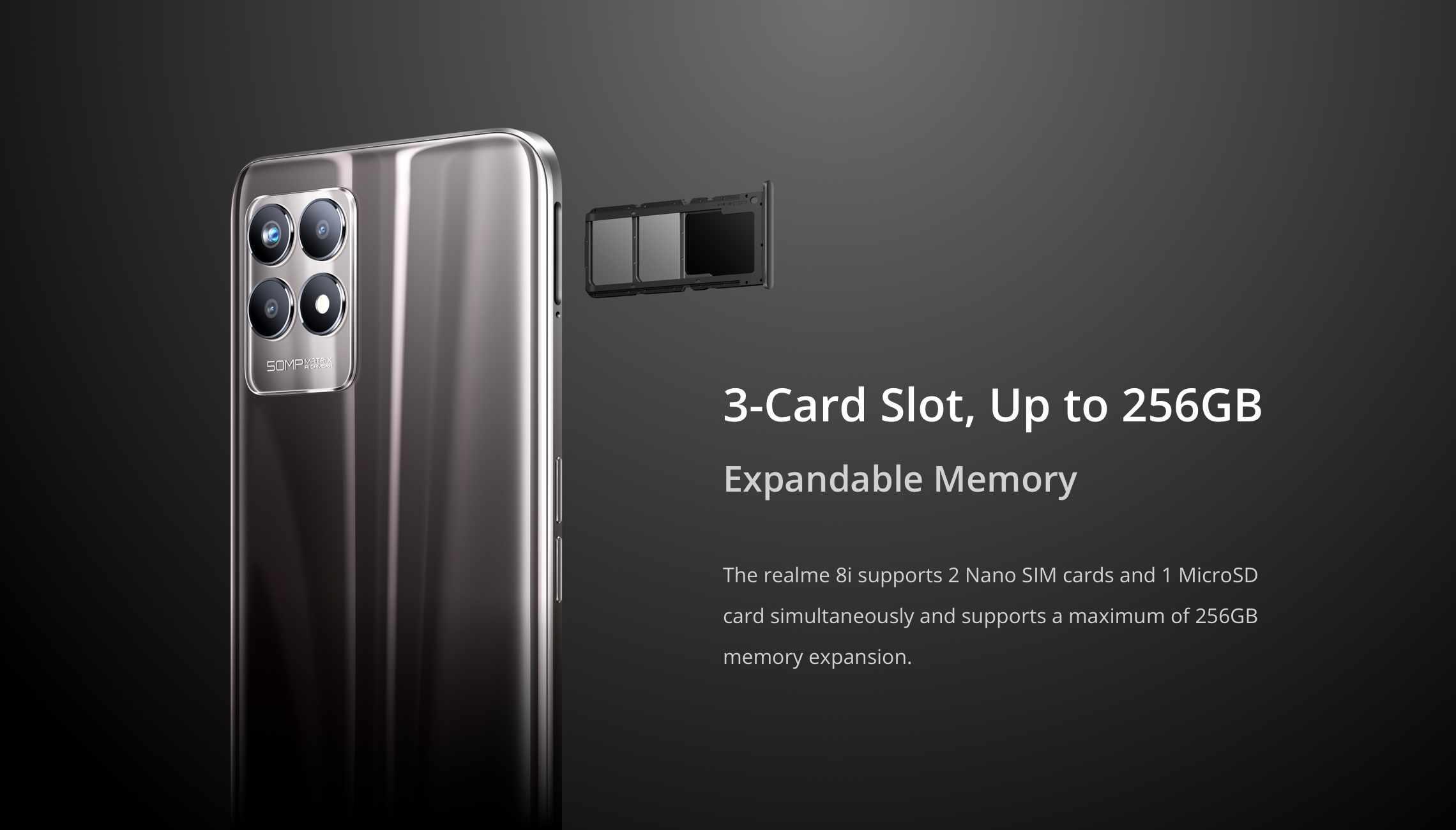 Realme 3 card slot