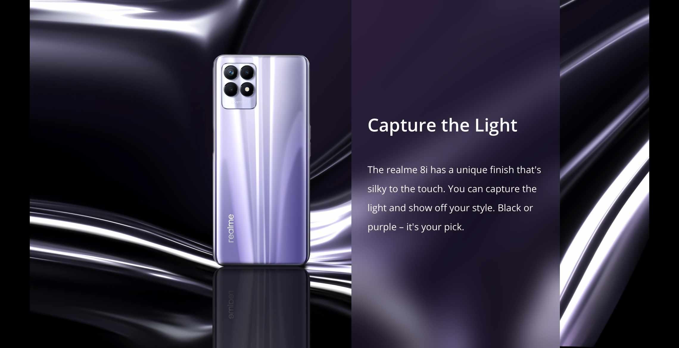 Realme capture the light