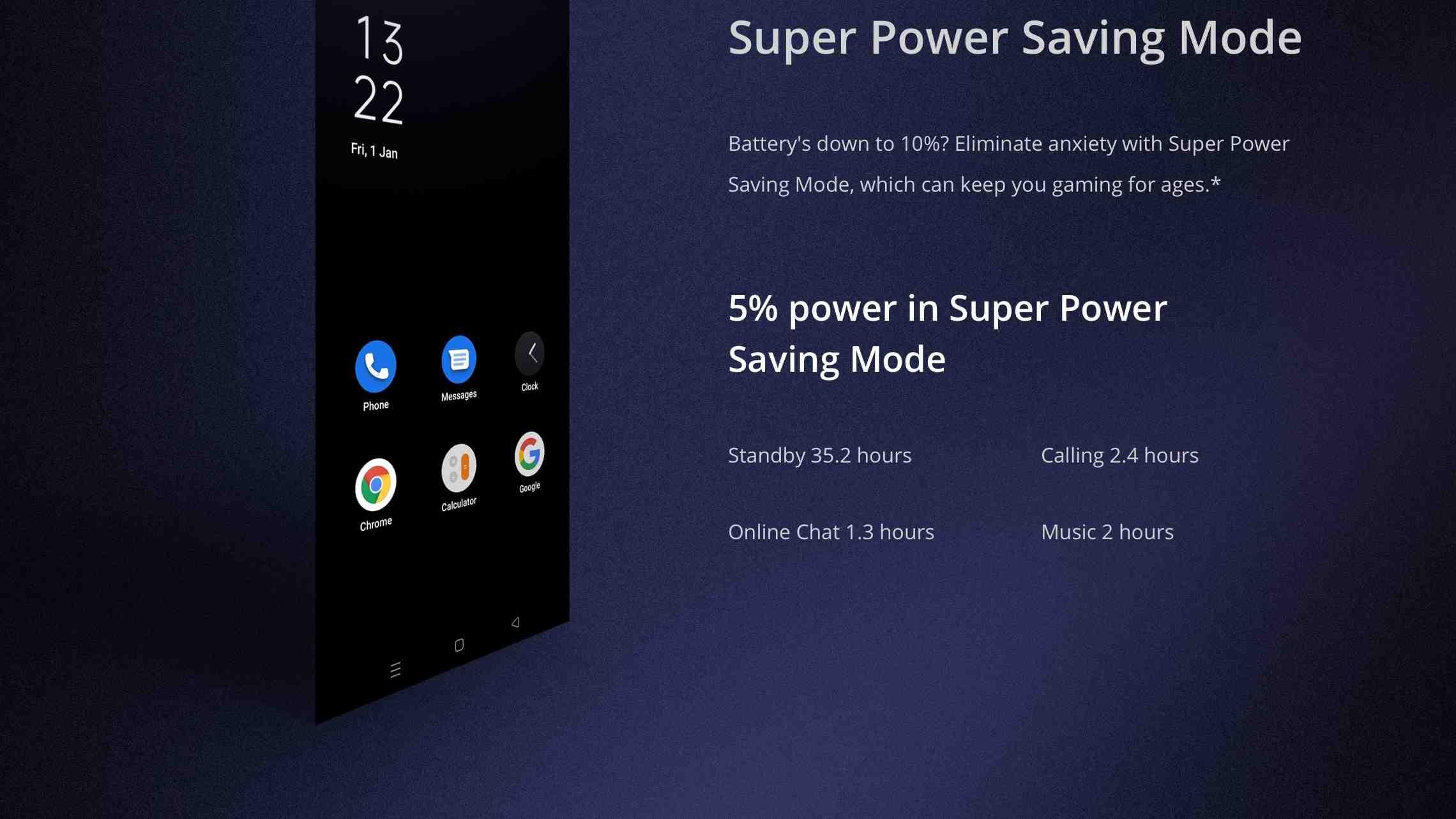 Realme power saving mode