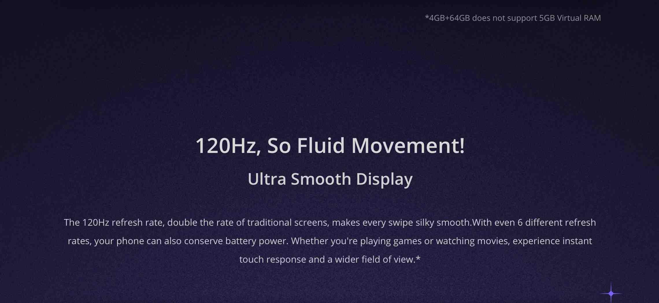 Realme smooth display