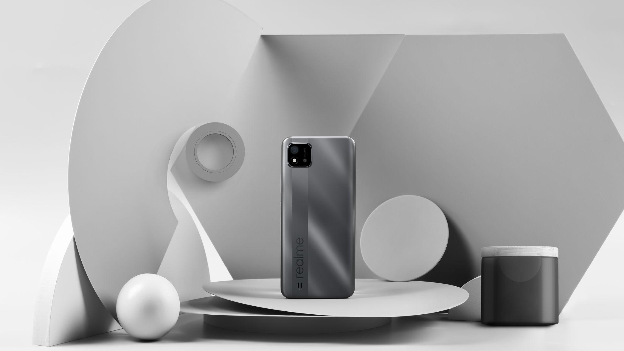 realme grey color