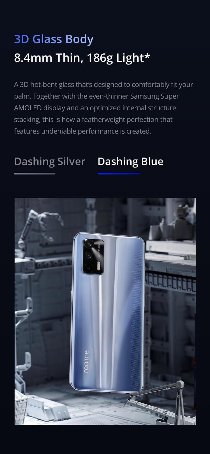Realme GT 5G glass
