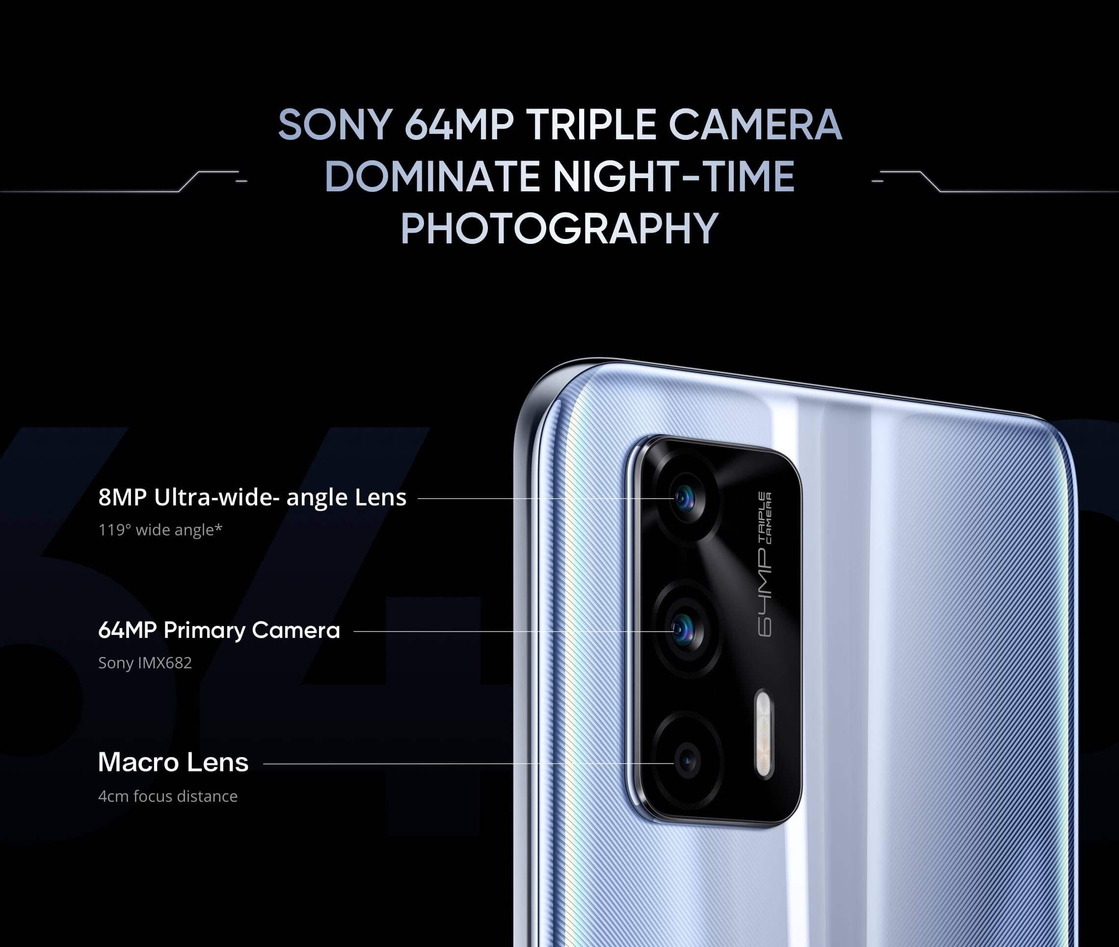 Realme GT 5G camera