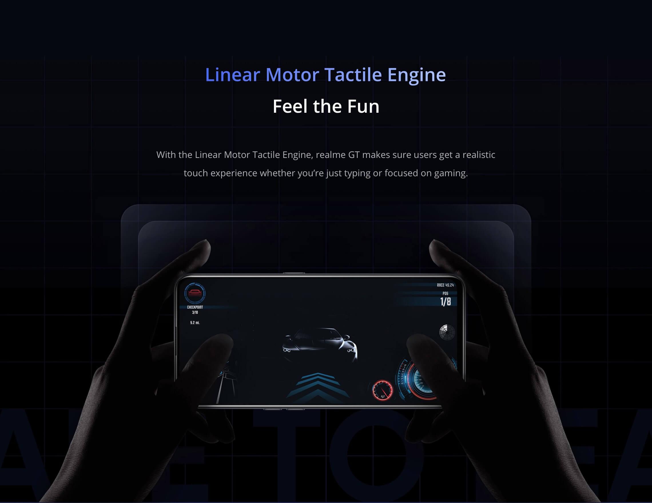 Realme GT 5G engine
