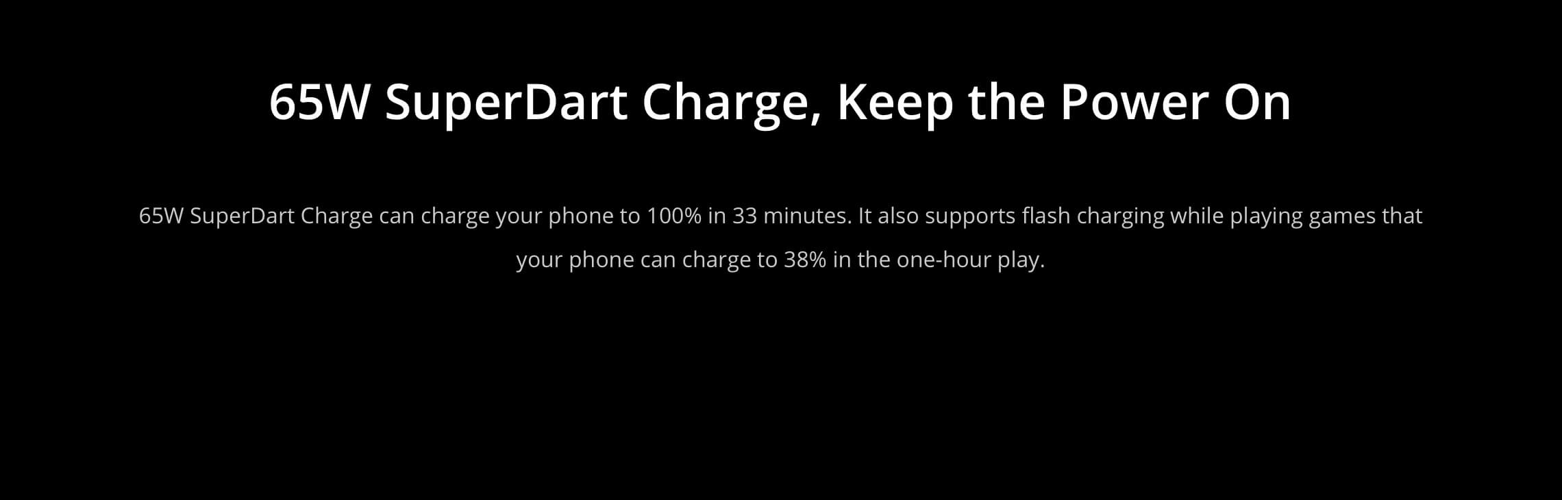 Realme GT Master Edition superdart charger