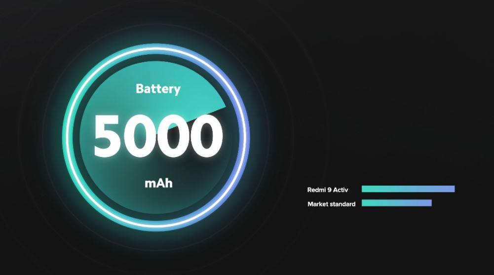Redmi 9 activ battery
