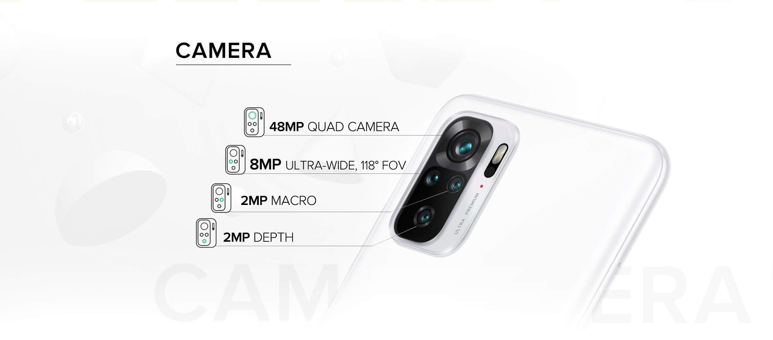 Redmi Note 10 camera