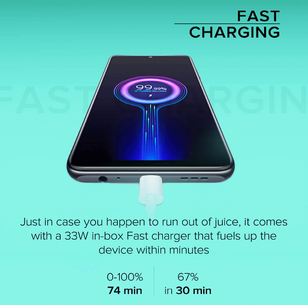Redmi Note 10 charger