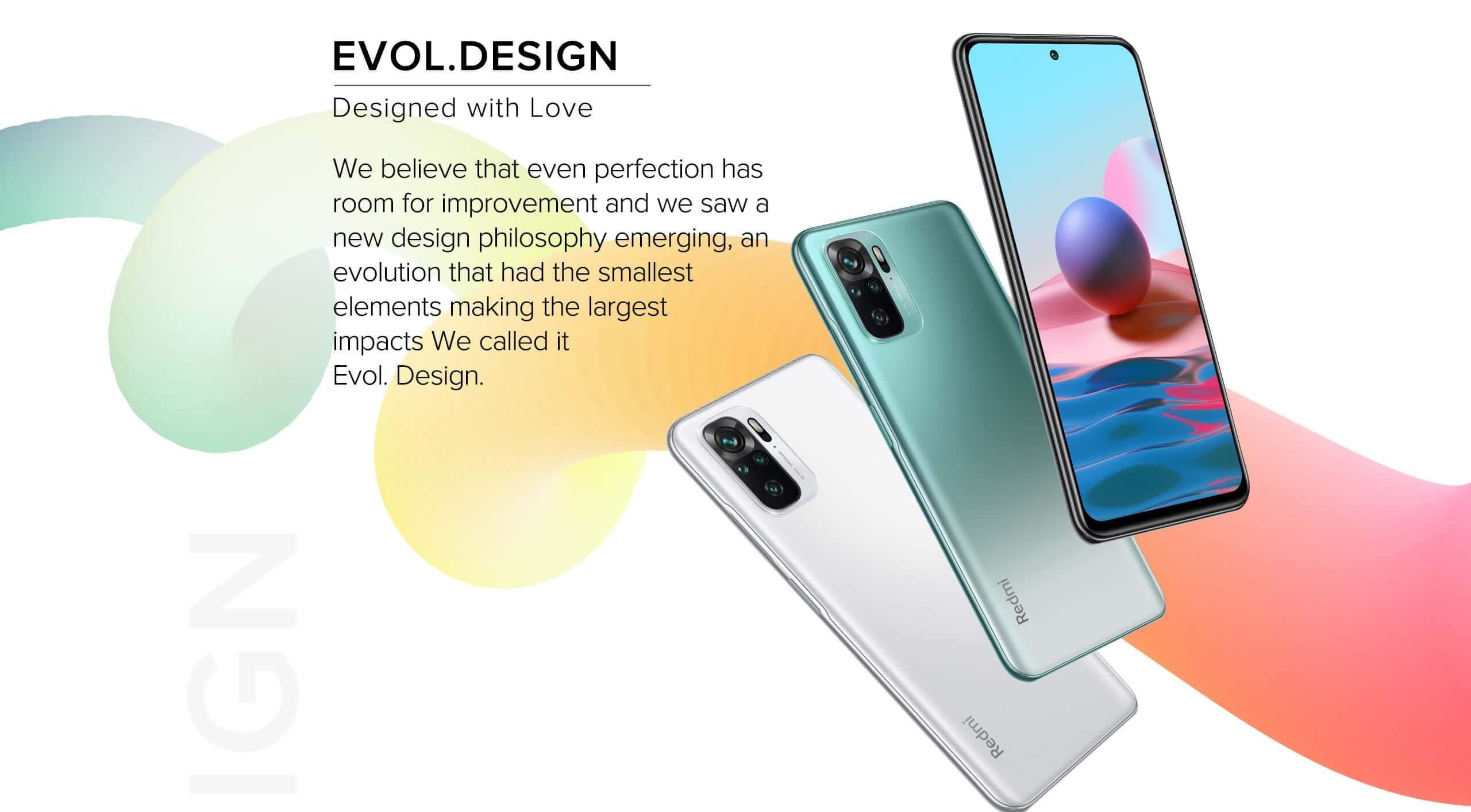 Redmi Note 10 design