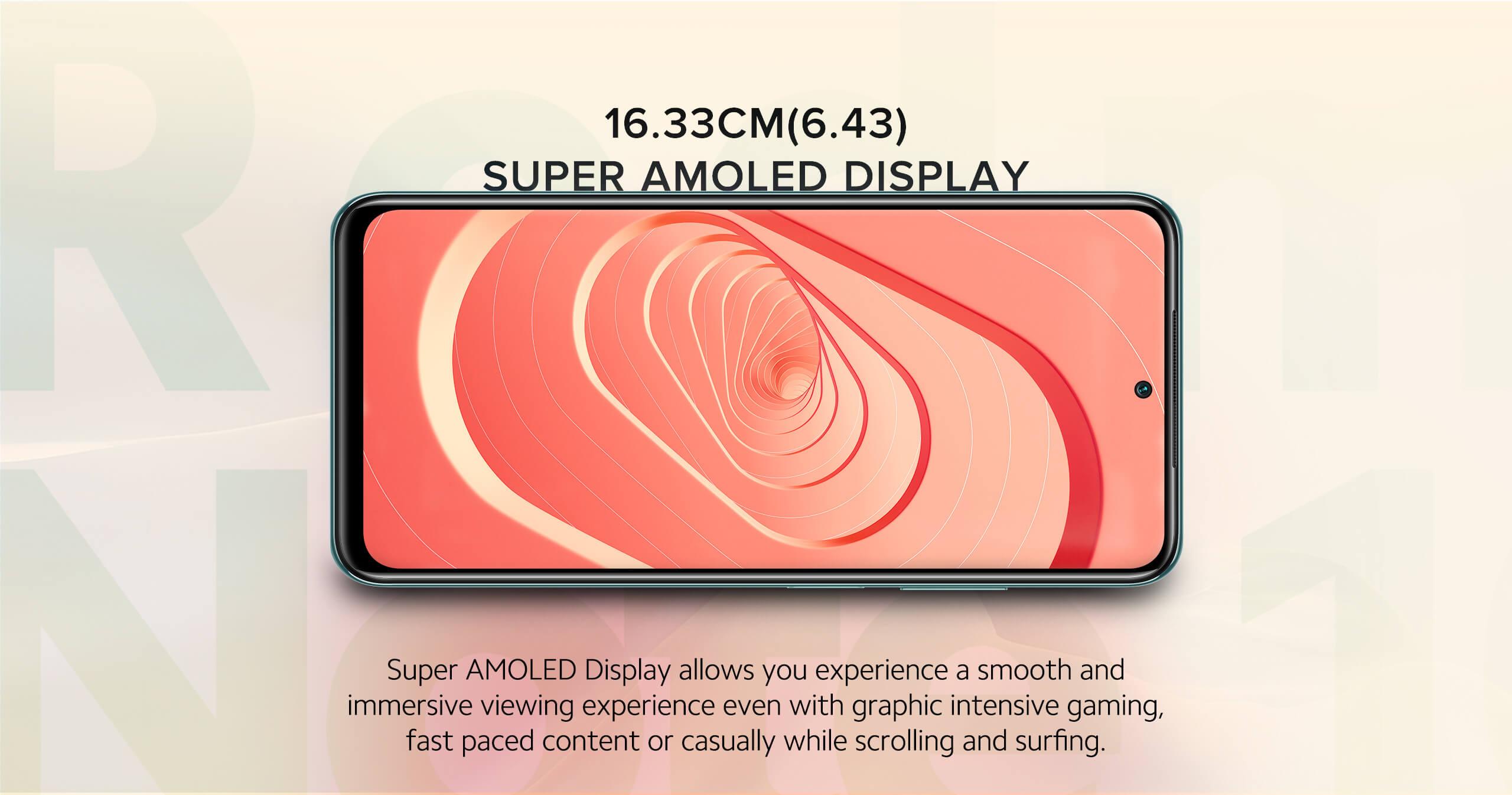 Redmi Note 10 super amoled