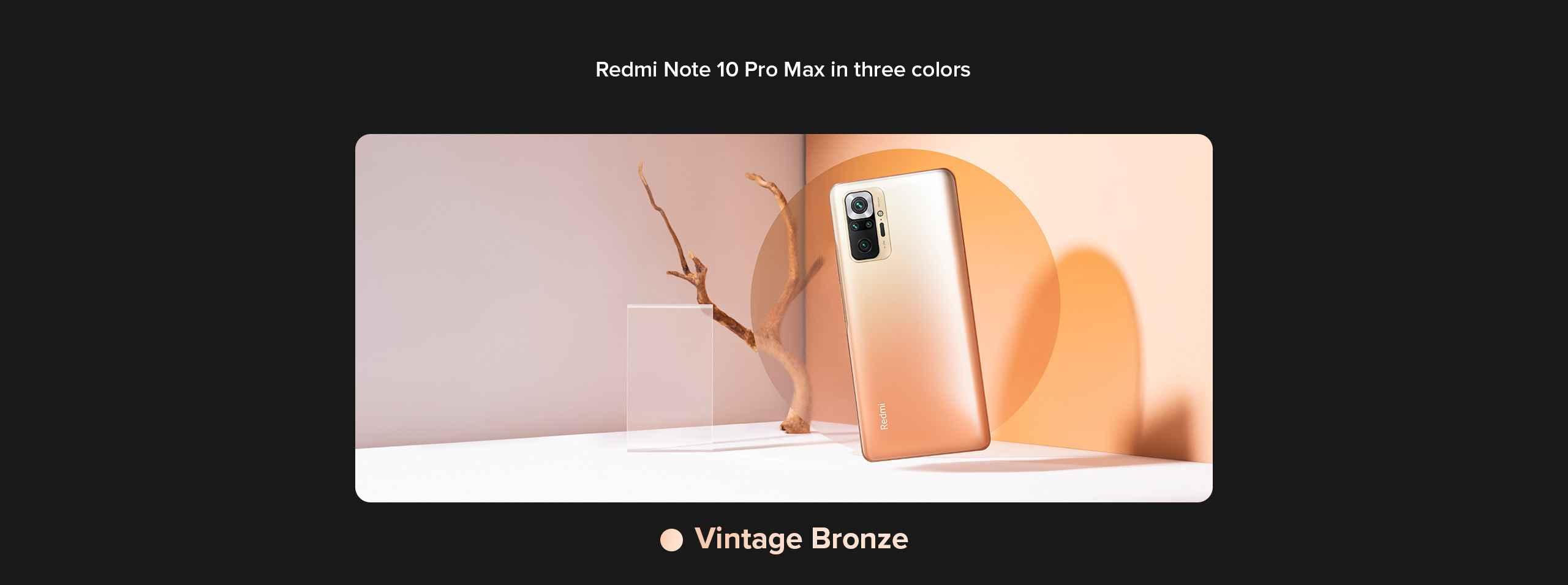 Redmi Vintage bronze