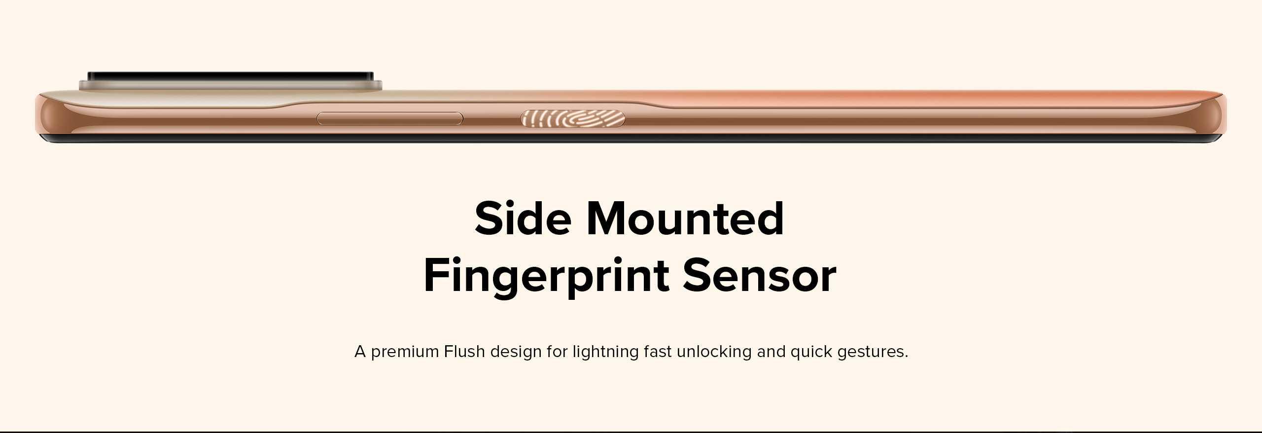 Redmi fingerprint sensor