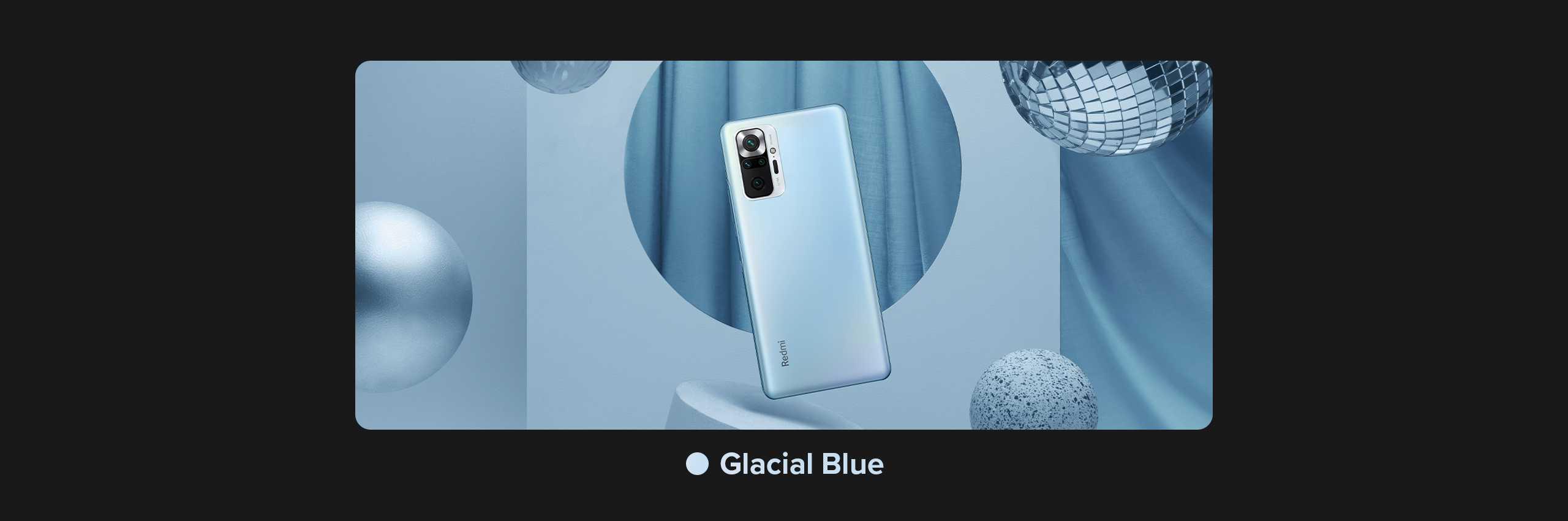 Redmi glacial blue