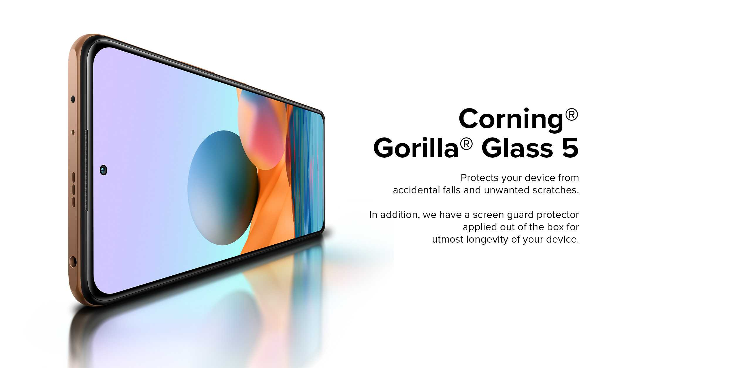 Redmi gorilla glass5