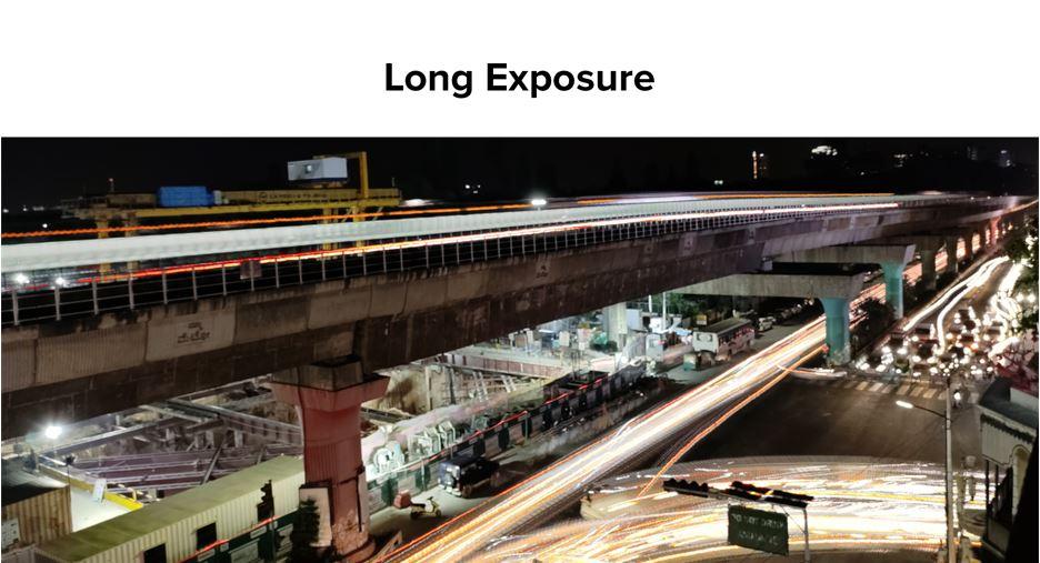 Redmi long exposure