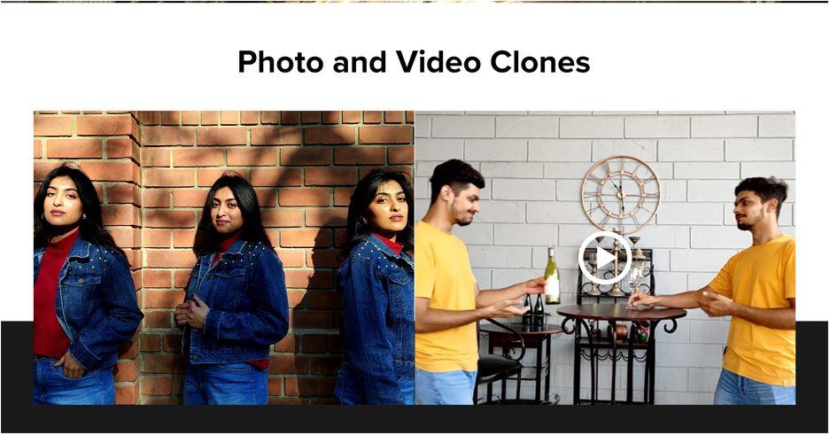 Redmi photo video clones