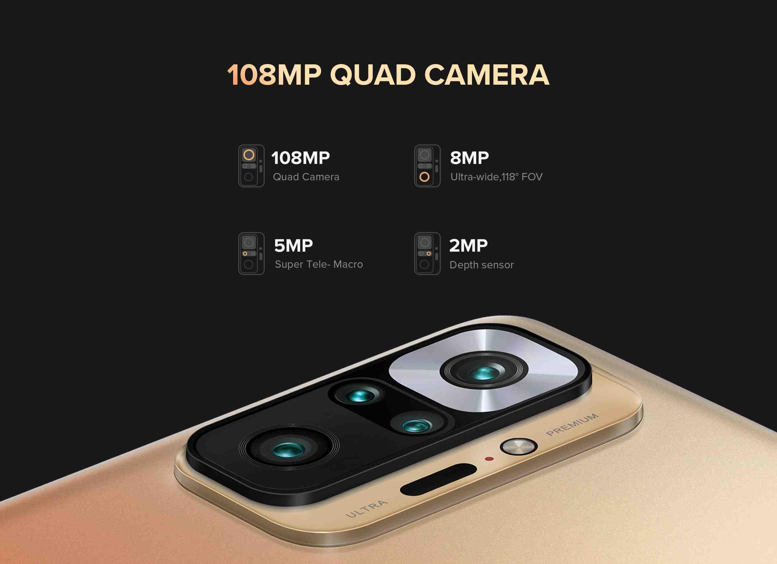 Redmi quad camera