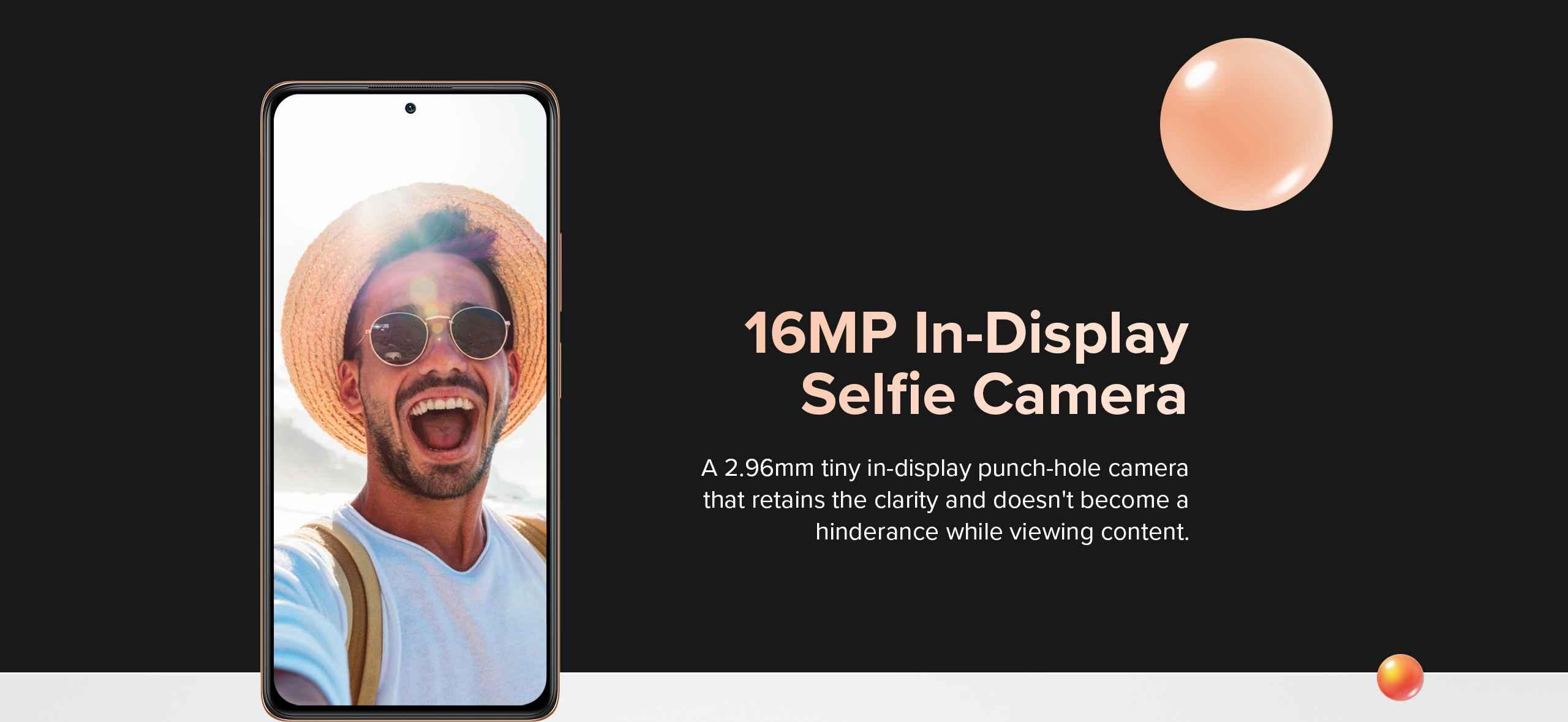 Redmi Selfie camera