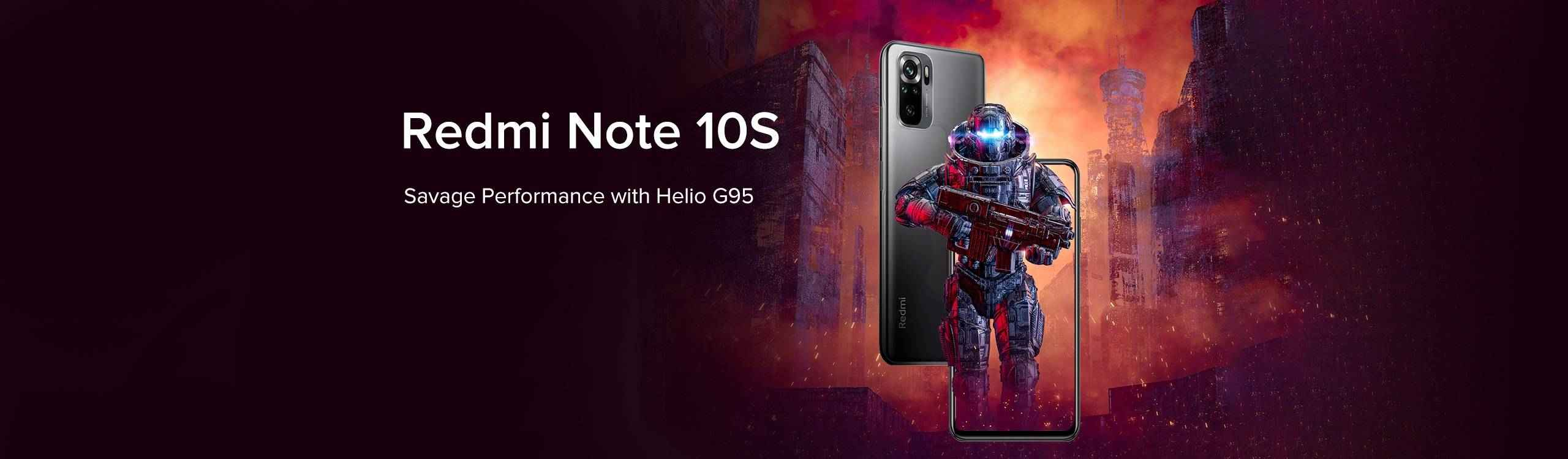 Redmi Note 10s Specifications