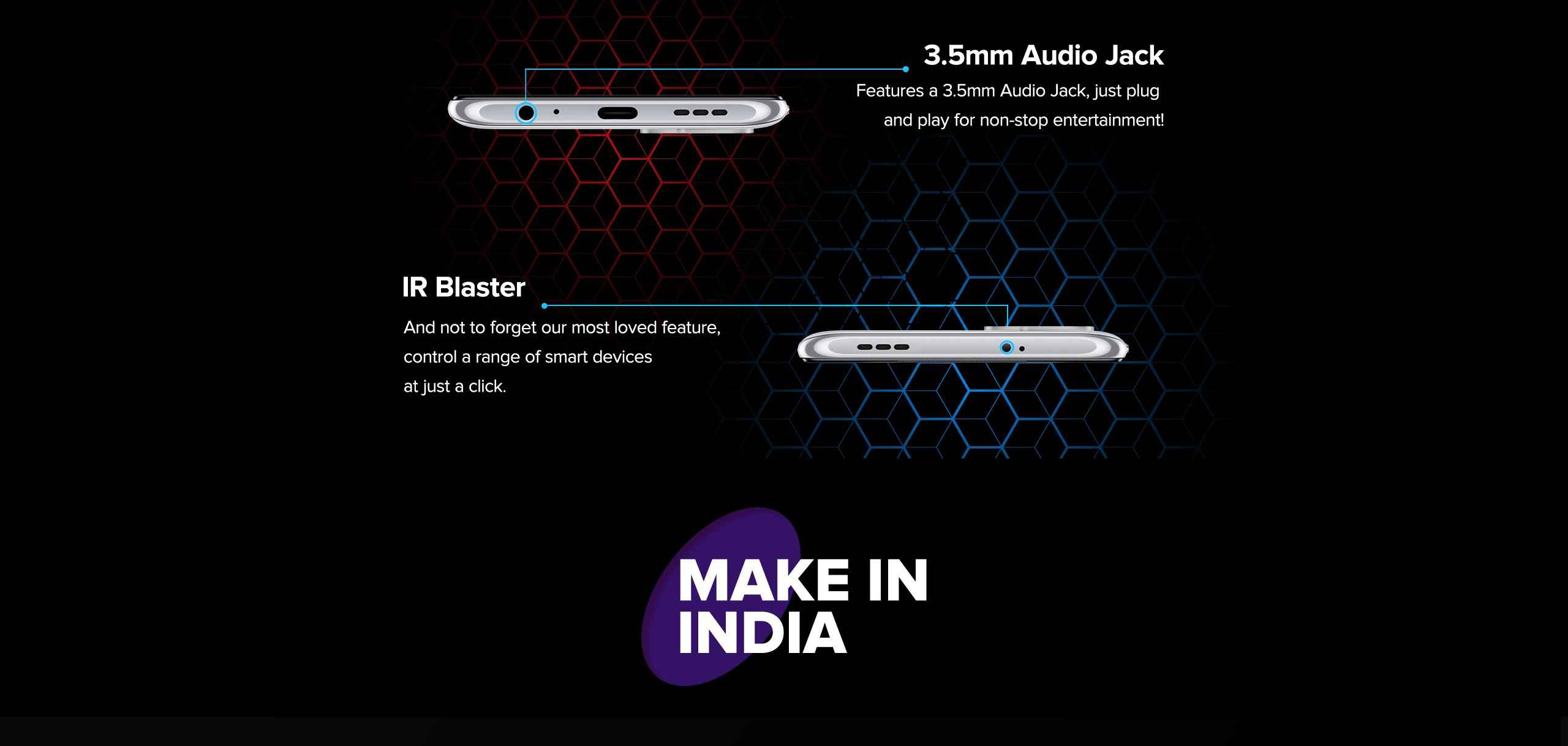Redmi Note 10s audio jack