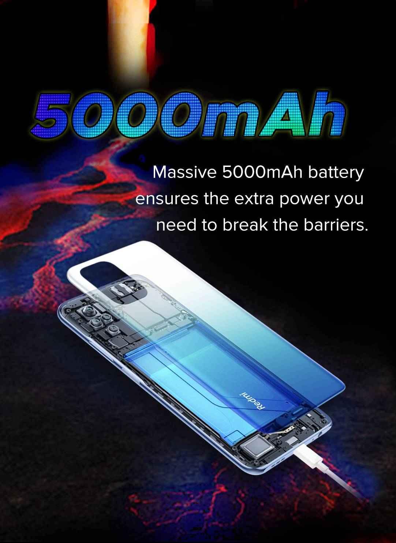 Redmi Note 10s battery