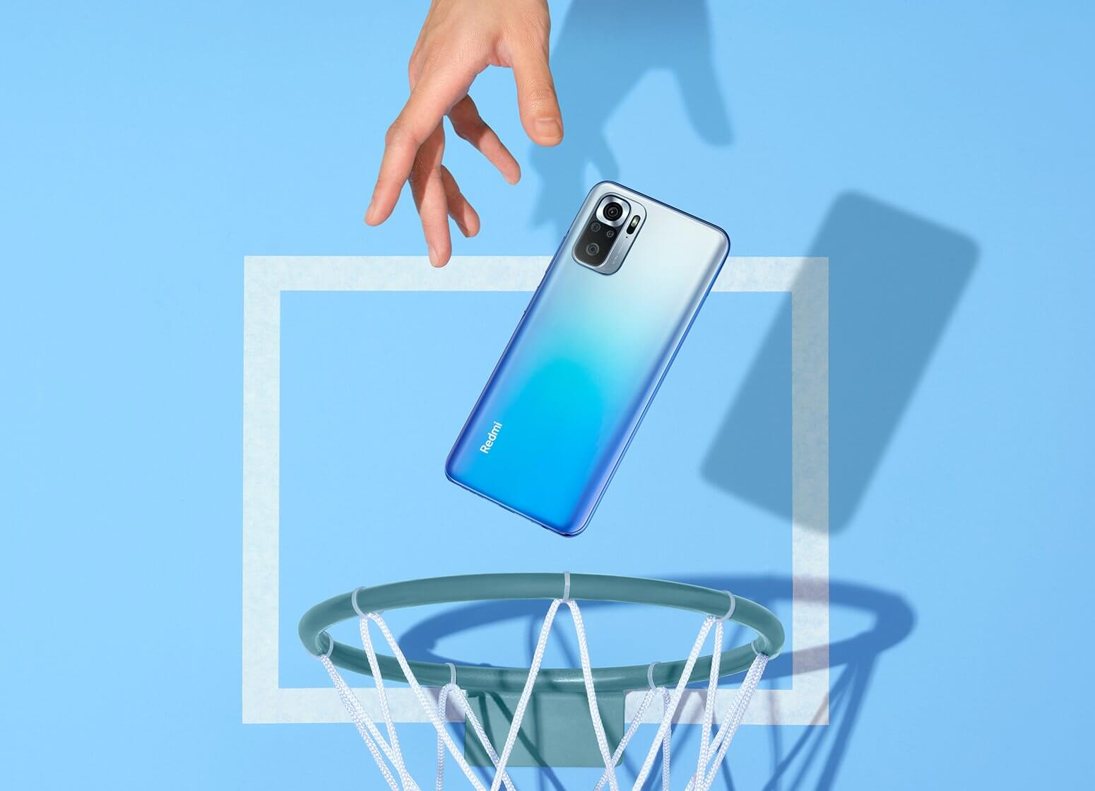 Redmi Note 10s blue