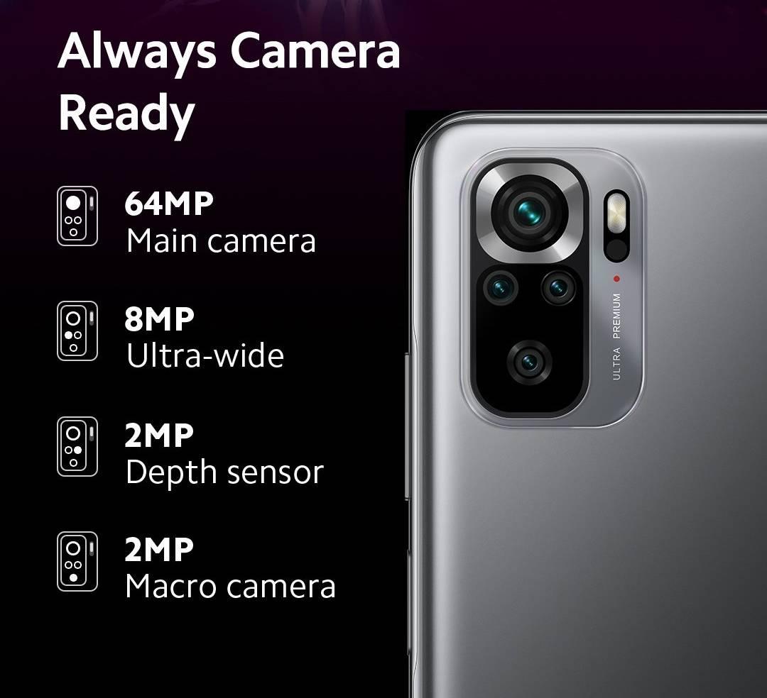 Redmi Note 10s camera