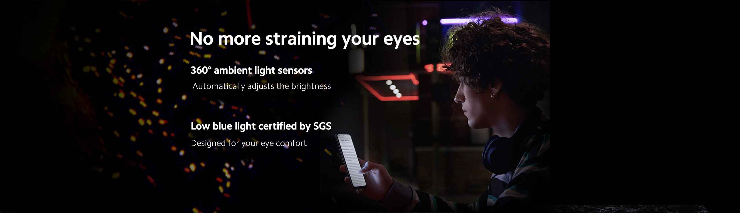 Redmi Note 10s eye comfort