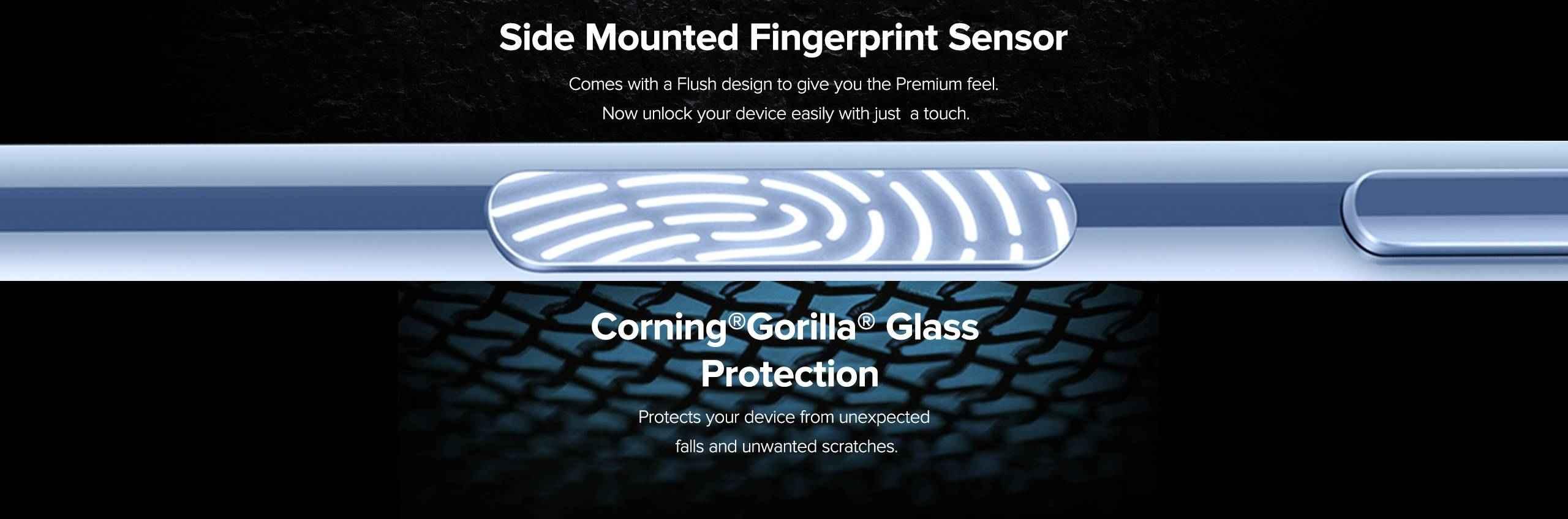 Redmi Note 10s finger print