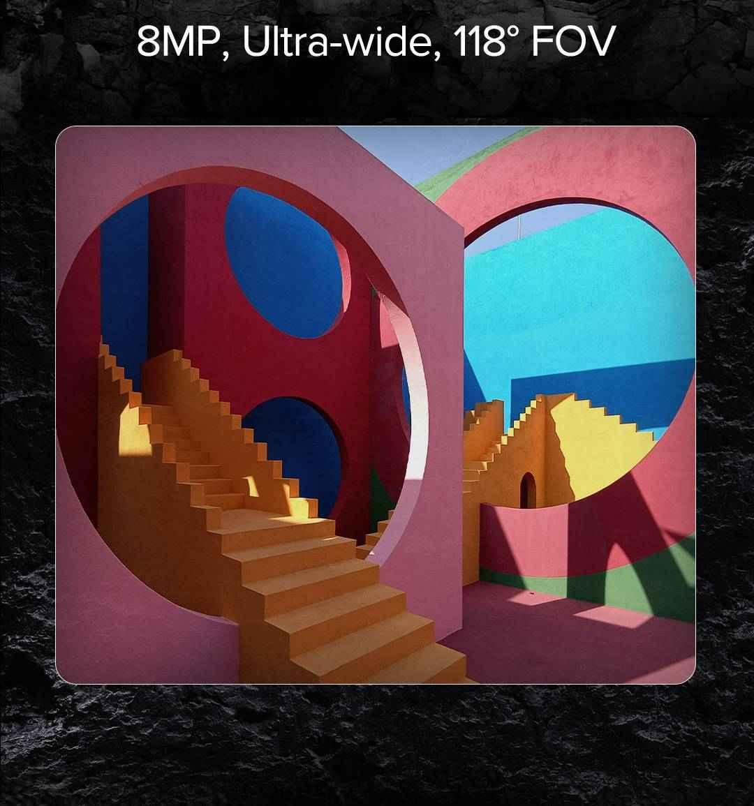 Redmi Note 10s ultra wide angle