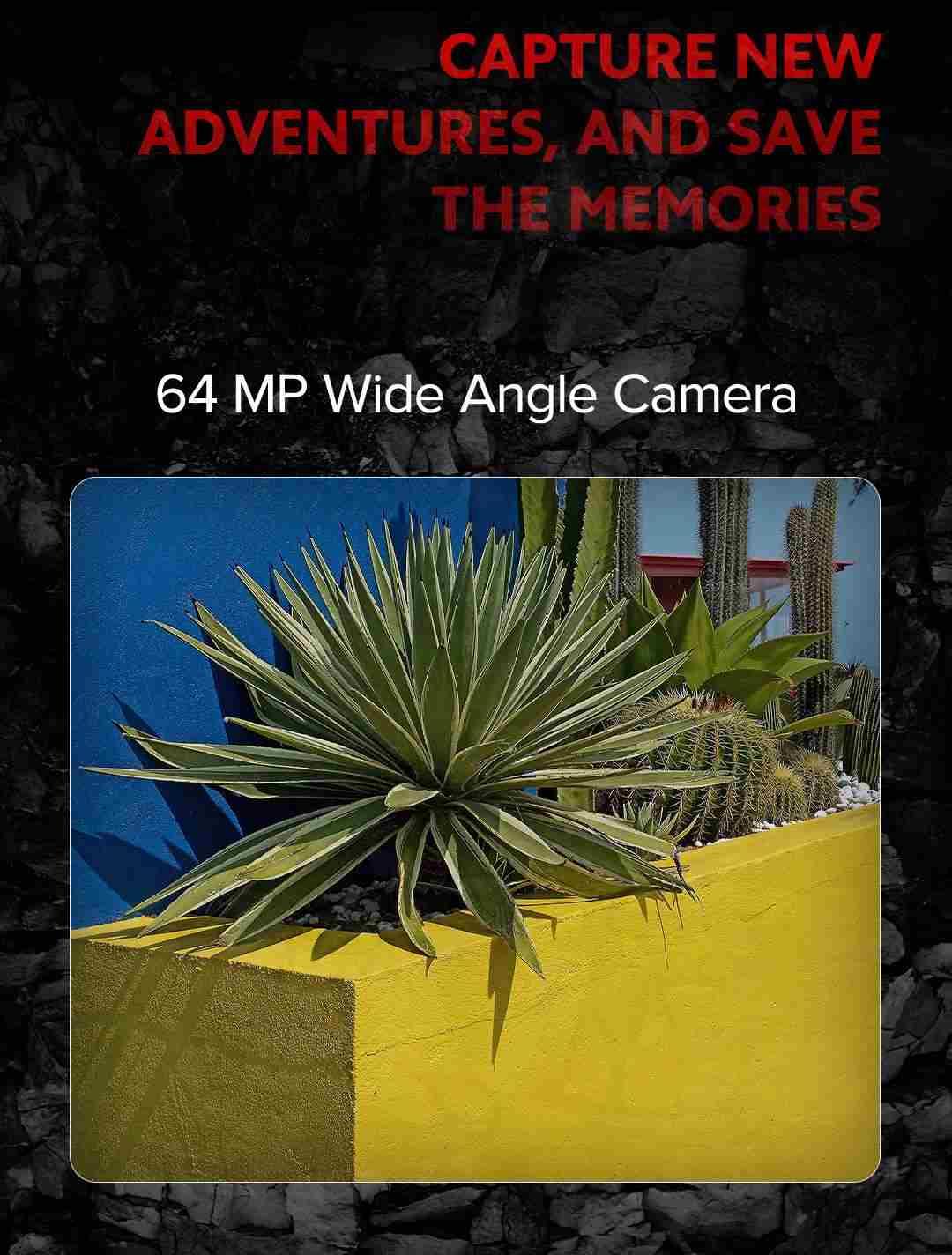 Redmi Note 10s wide angle