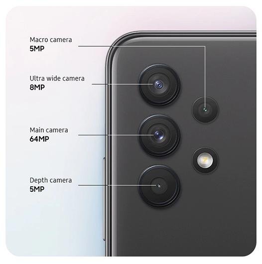 Samsung Galaxy A32 camera