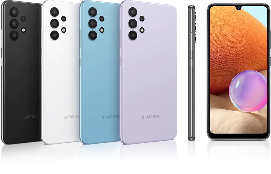 Samsung Galaxy A32 design