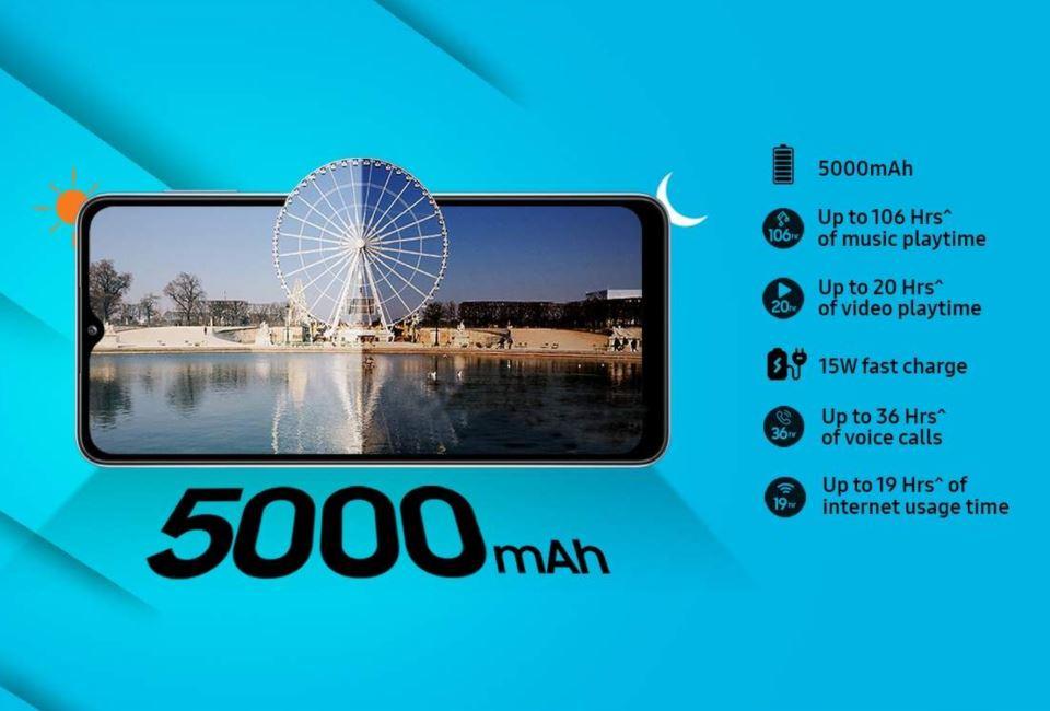 Galaxy M32 5G Battery