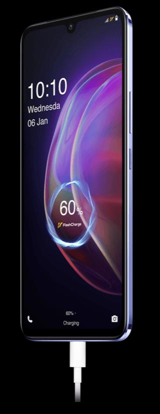 vivo v21 5g flash charge