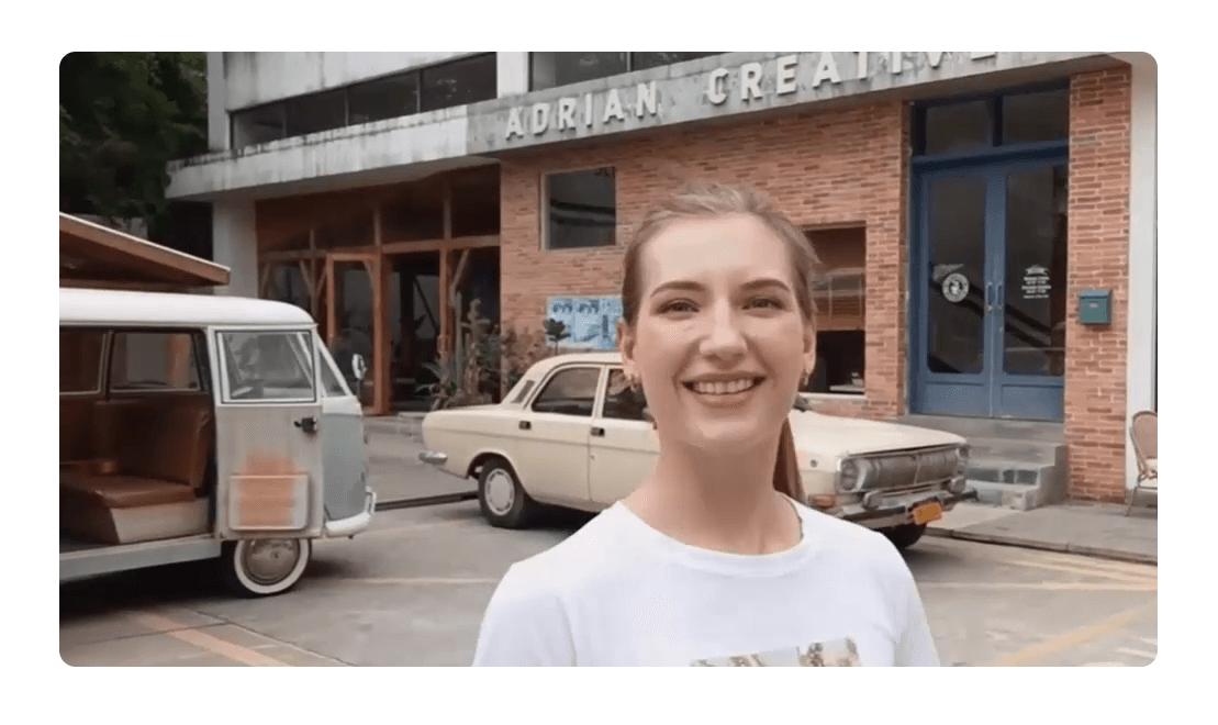 vivo v21 5g selfie video
