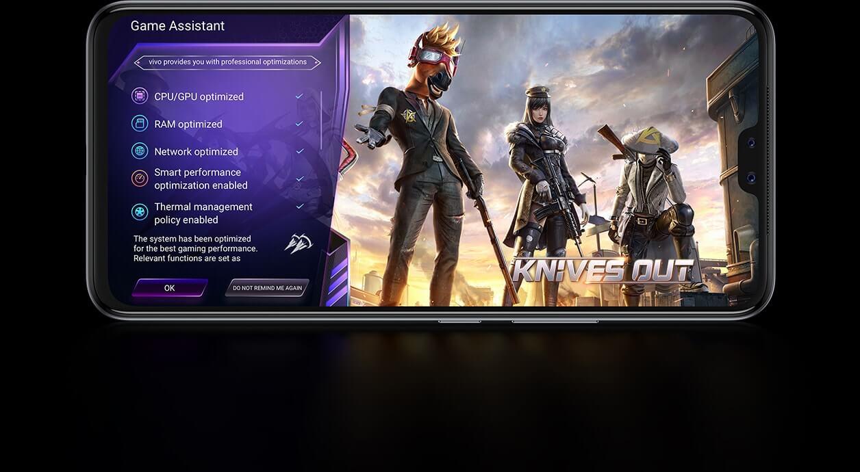vivo v20 pro ultra game mode